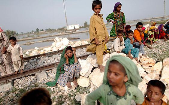 Pakistan'da 123 kişinin gıda yetersizliğinden öldüğü bölge