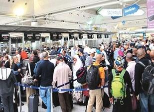 İki ayda 8 milyon yolcu