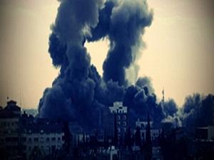 İsrail Gazze'yi bombaladı: 3 ölü!
