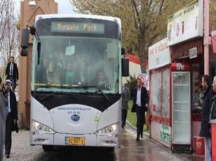 İşte Türkiye'nin ilk elektrikli otobüsü