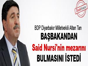 Başbakandan Said Nursi'nin mezarını bulmasını istedi