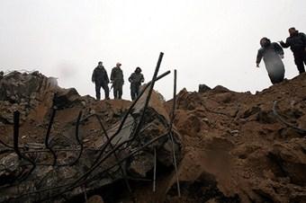 İsrail Gazze'de 7 noktayı vurdu