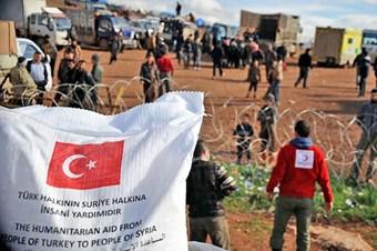 Suriye insani yardım operasyonu üçüncü yılında