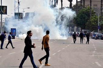Mısır'da çok sayıda gösterici gözaltında
