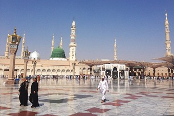 Mescid-i Nebevi'de Ramazan hazırlıkları tamamlandı