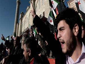 Suriyelilere destek için Saraçhane'ye yürüdüler