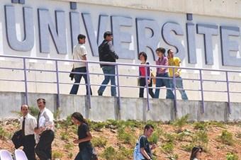 Üniversiteli sayısı 5,5 milyon