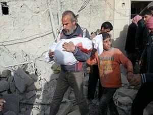 Suriye'de 124 bin 927 kişi öldürüldü