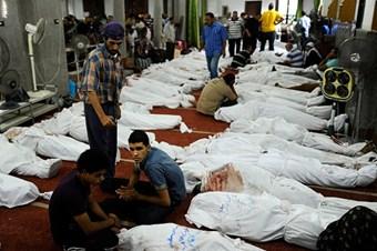 Rabiatul Adeviye'de ölenlerin yüzde 88'i silahlarla vuruldu