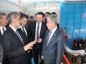 Soma Bölgesel Isıtma Sistemi Isı Dağıtım Merkezi açıldı