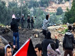 İsrail güçlerinden Filistinlilere müdahale