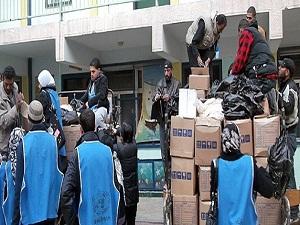 BM'den Yermuk'e büyük yardım