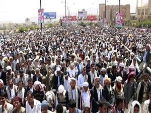 Yemen'de Cuma gösterileri