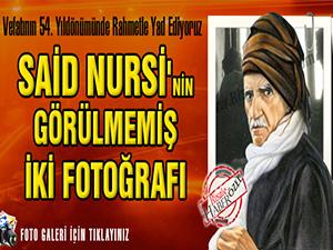 Said Nursi'nin görülmemiş iki fotoğrafı