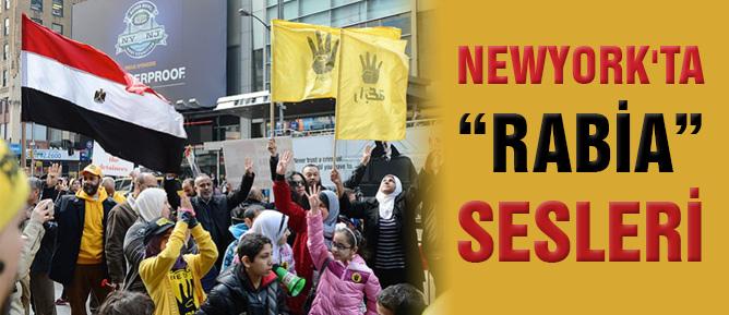 Newyork'ta 'Rabia' sesleri