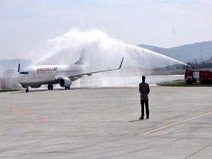 Çanakkale-Ankara uçak seferleri başladı!