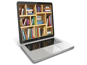 Kütüphanede online devrim