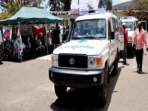 TİKA'dan Etiyopya'ya ambulans desteği