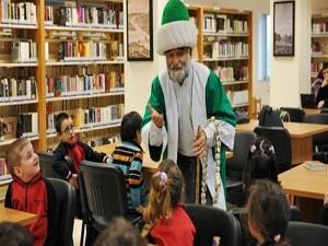Çocuklara kitabı sevdiren kütüphane