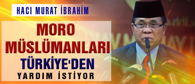Moro Müslümanları Türkiye'den yardım istiyor
