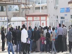 100 Suriyeli ülkelerine döndü