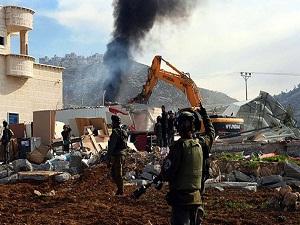 İsrail'in Filistin'deki yıkımlarına tepki