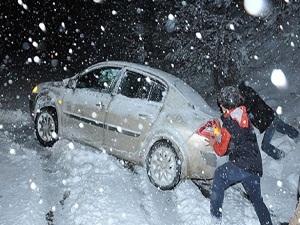 Kar yağışı hazırlıksız yakaladı