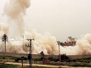 Mısır Ordusu yine Gazze tünellerini bombaladı