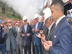 Sultanhisar jeotermale kavuştu
