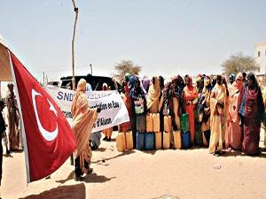 Türkiye'den Moritanya'ya temiz içme suyu