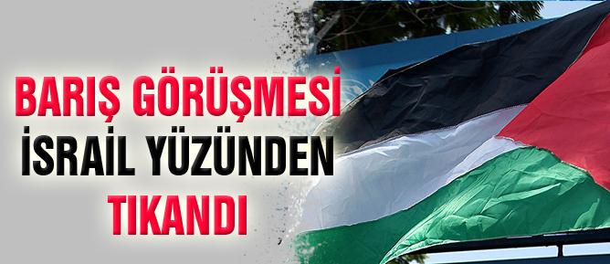 Barış görüşmesi İsrail yüzünden tıkandı