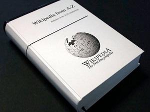 Wikipedia kitap oluyor
