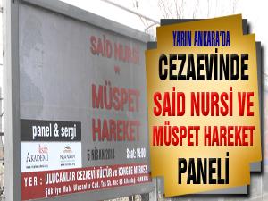 Cezaevinde 'Said Nursi ve Müspet Hareket' paneli