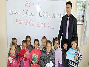 İstanbul'dan Başkale'ye yardım eli