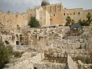 Kudüs halkı İsrail'in Silvan'daki kazılarından endişeli