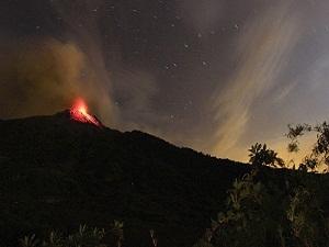 Yanardağ, 10 km lav püskürttü