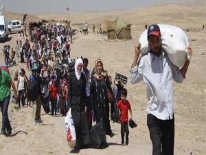 Irak'ta mülteci sayısı 224 bine yükseldi