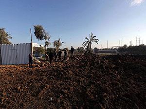 İsrail Gazze'nin tarlasına bile saldırdı
