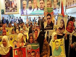 Gazze halkından İsrail'deki mahkûmlara destek