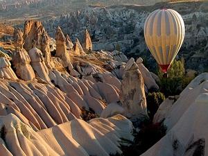 Kapadokya'nın ziyaretçi sayısı arttı