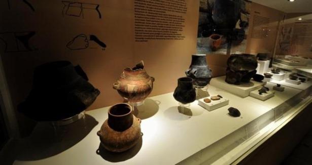 Kapadokya'nın tarihi Aksaray Müzesi'nde