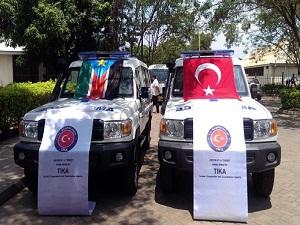 TİKA'dan Güney Sudan'a ambulans yardımı