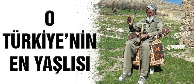 O, Türkiye'nin en yaşlısı