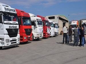 48 tırlık yardım konvoyu Kilis'e ulaştı