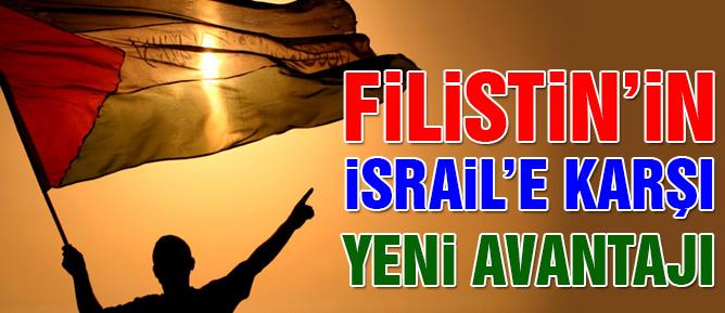 Filistin artık İsrail'i dava edebilecek