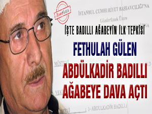 Fethullah Gülen, Badıllı ağabeye dava açtı