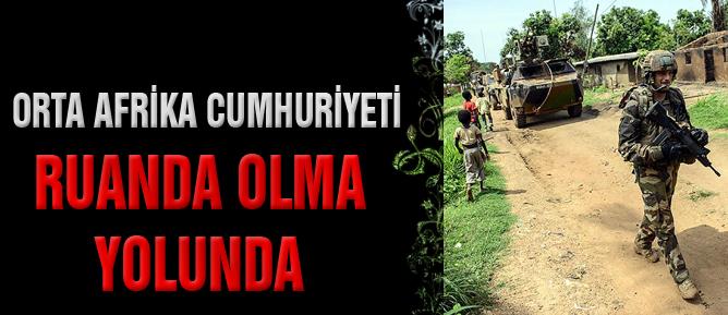 Orta Afrika Cumhuriyeti Ruanda olma yolunda