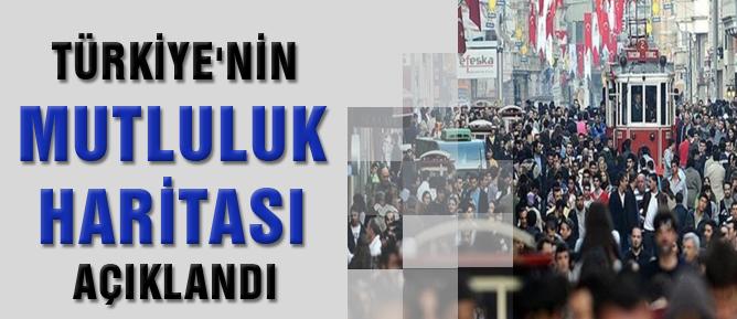 Türkiye'nin mutluluk haritası açıklandı