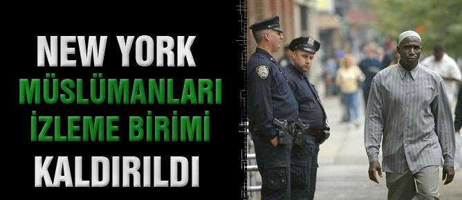 New York Müslümanları İzleme Birimi kaldırıldı