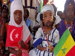 Senegalli çocuklara eğitim kompleksi